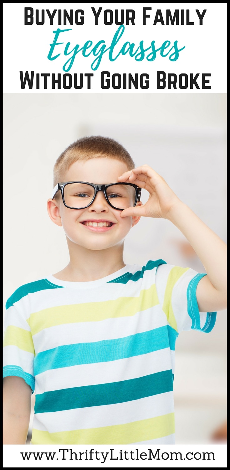 Buying Your Family Eyeglasses without going broke