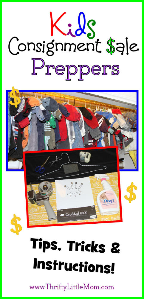 How to make money from kids consignment sales.  I make $200-$600 a season!