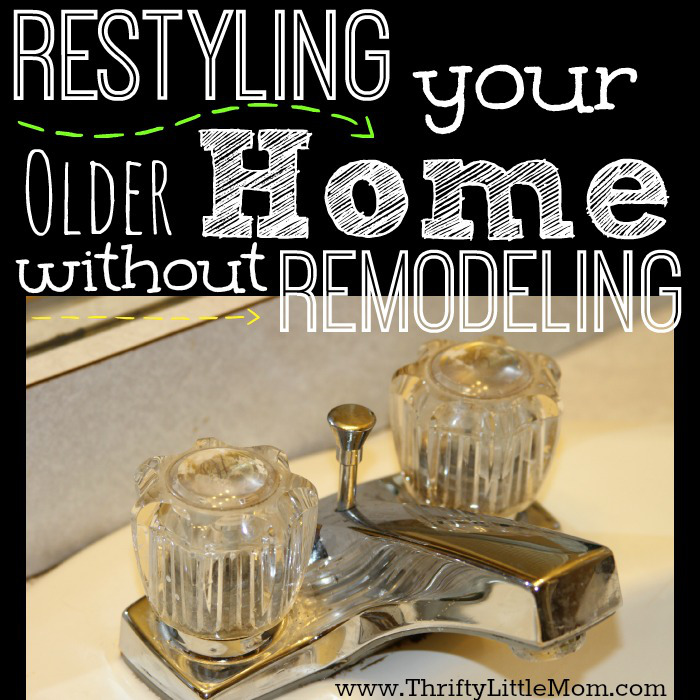 Restyling your older home without remodeling