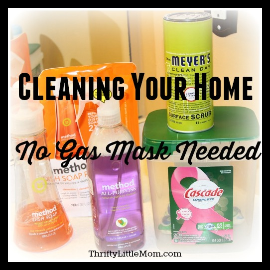 Cleaning Your Home: No Gas Mask Needed