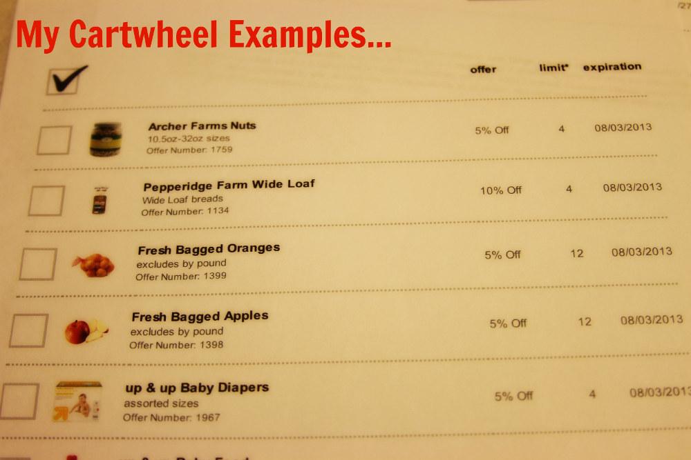 Cartwheel Examples