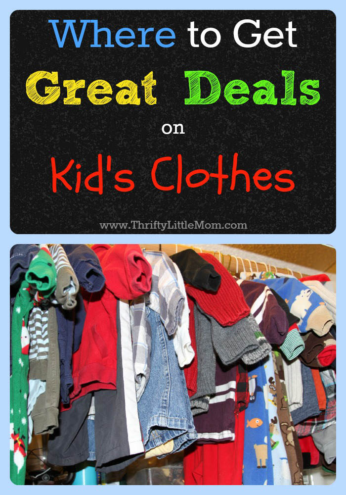 Great Deals on Kid's Clothes