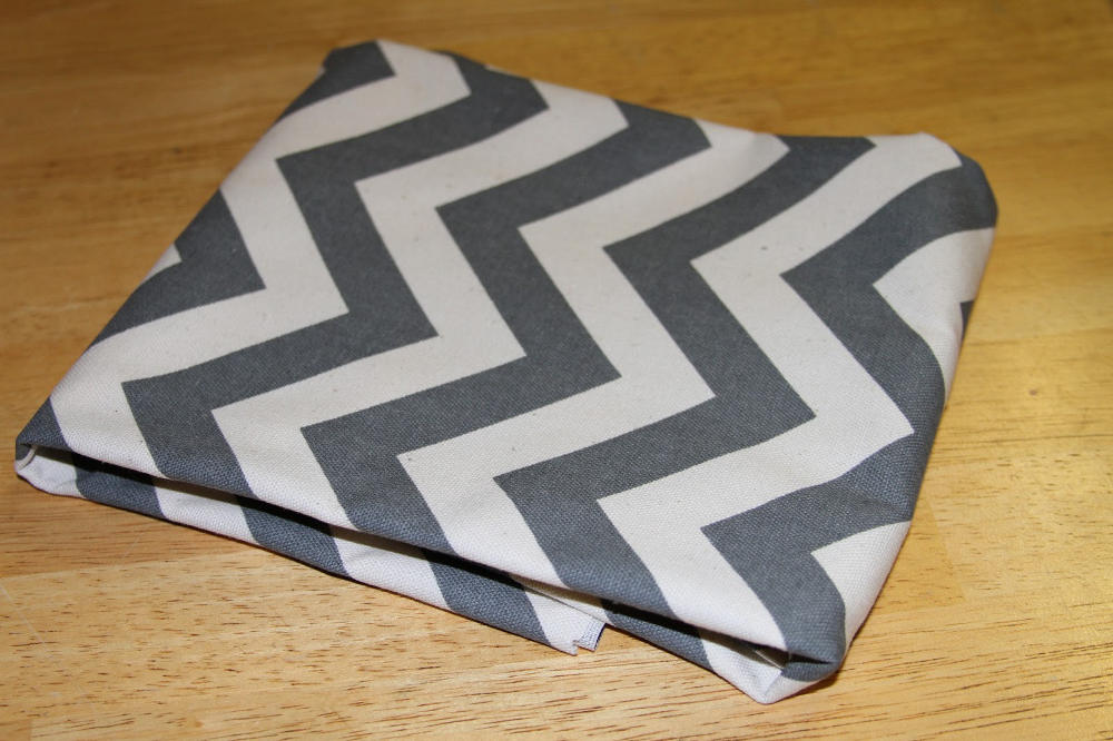 Baby Shadow Box Chevron Fabric