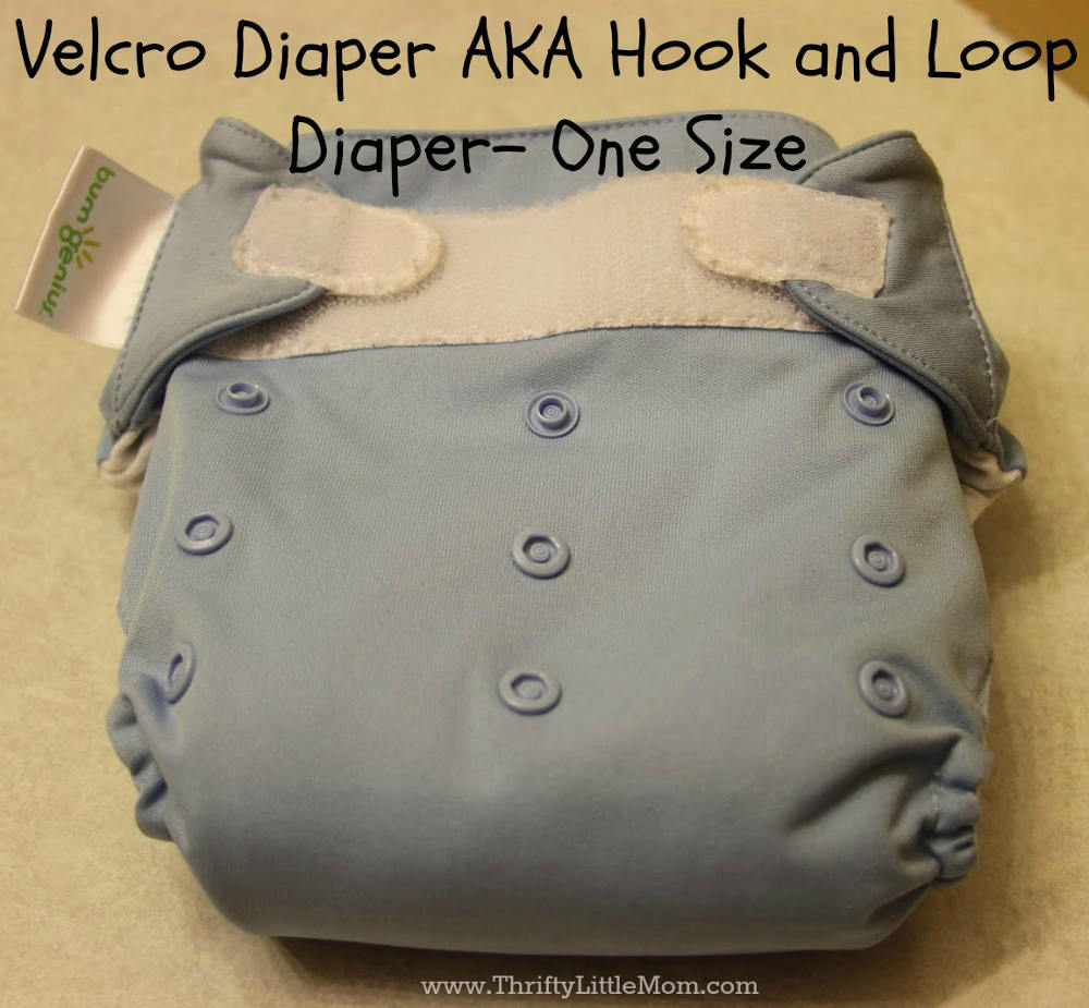 Hook and Loop Cloth Diaper