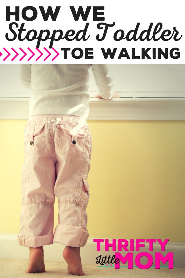 How to stop toe walking
