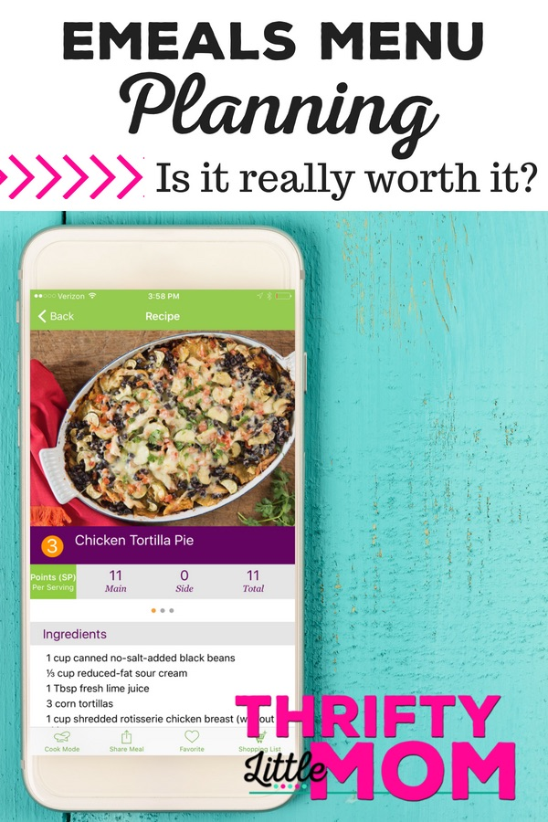Emeals: A Frugal Mom's Review » Thrifty Little Mom