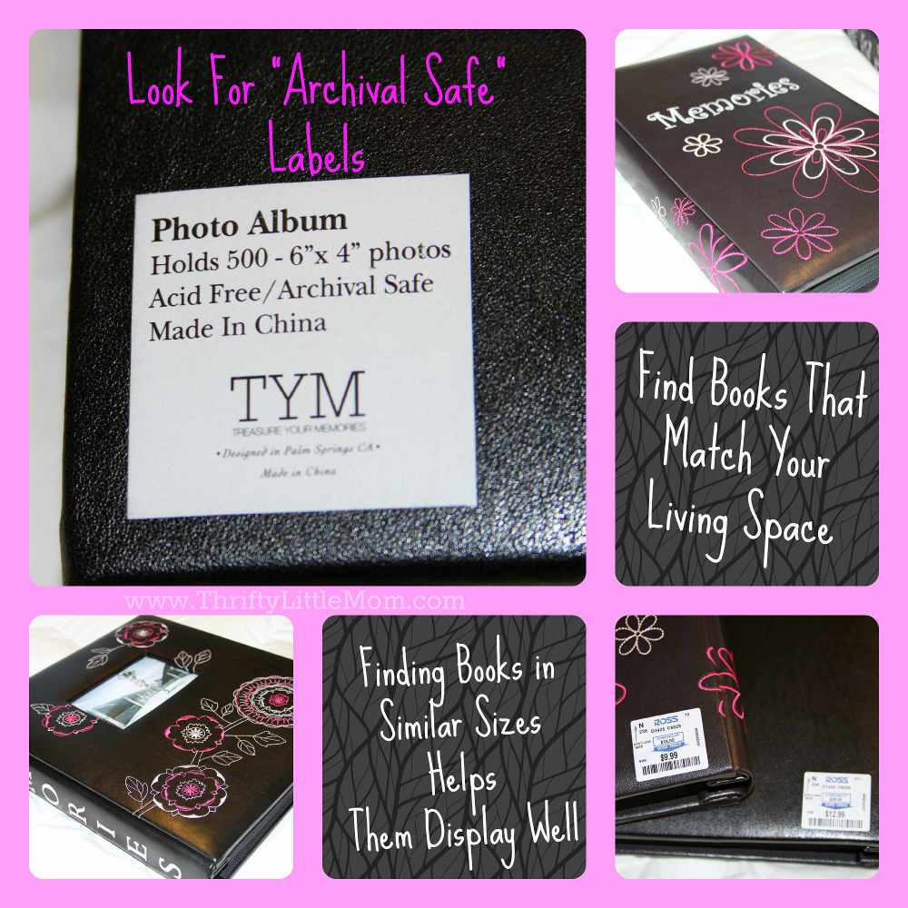 Archival Safe Photo Books