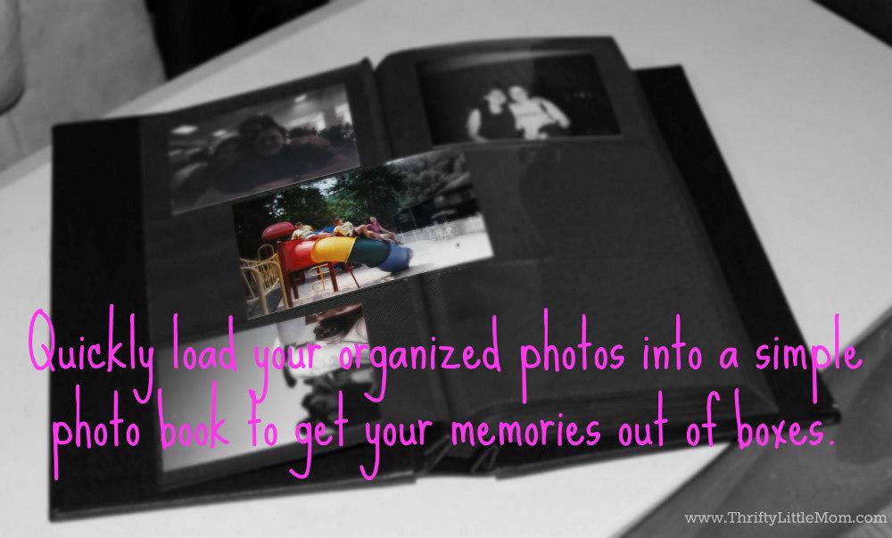 Organize Old Photographs into photo books