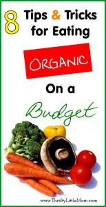 8 Tips & Tricks for eating organic on a budget