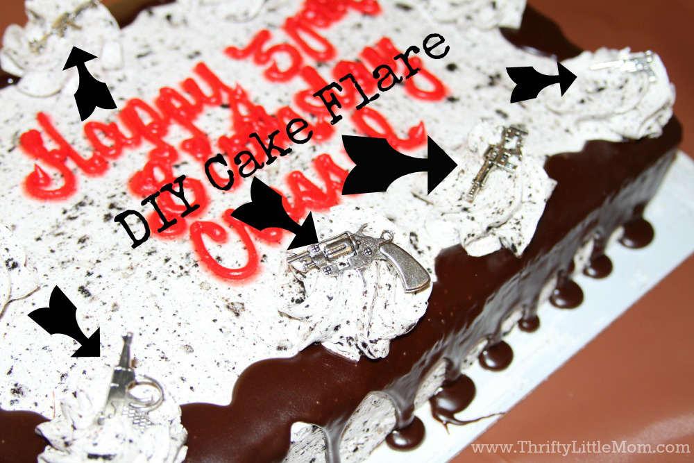 DIY Cake Flare