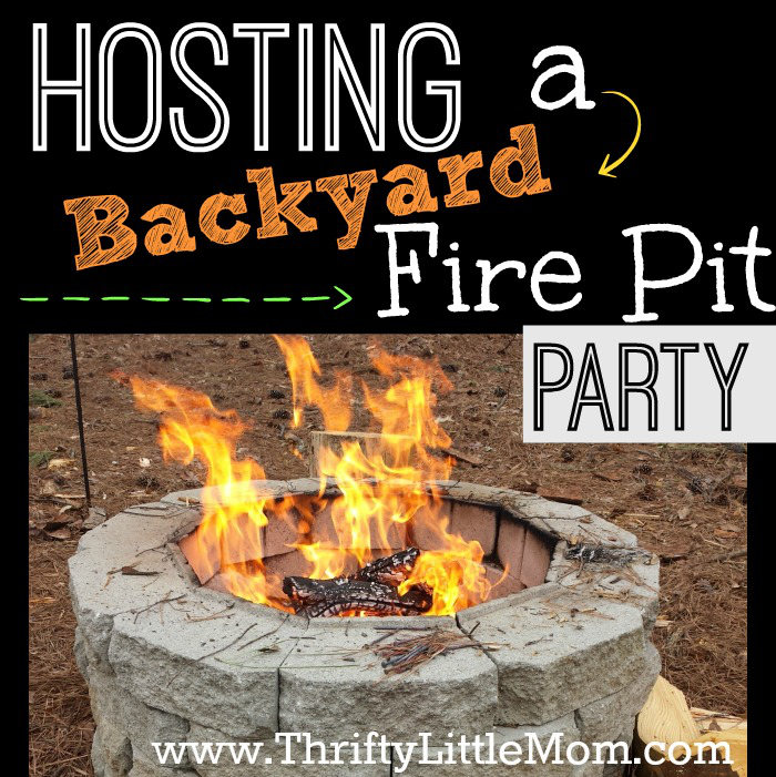 Hosting A Backyard Fire Pit Party