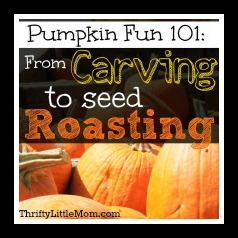 Pumpkin Fun 101:From Carving to Seed Roasting