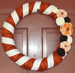 Yarn Wrap Wreath