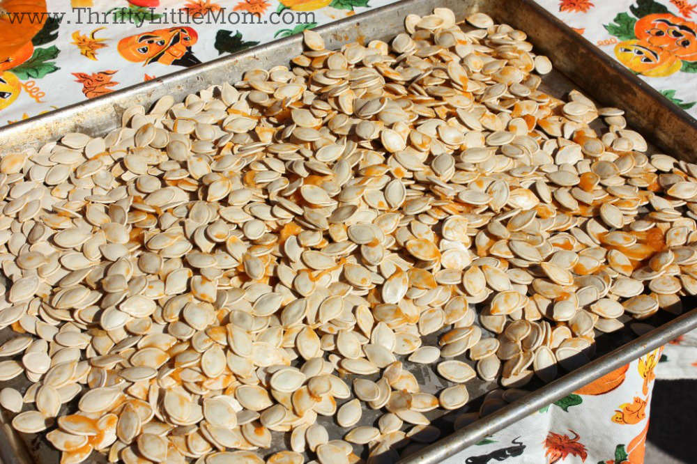 how to cook pumpkin seeds in a pan