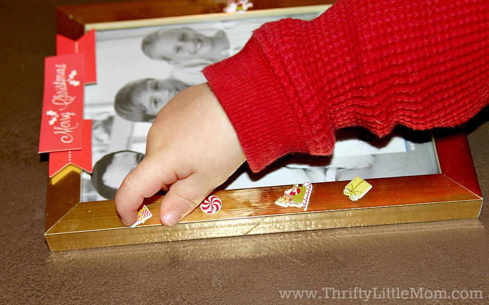 Annual Santa Frame Stickers