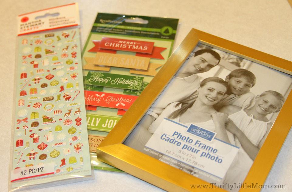 Annual Santa Frame Supplies