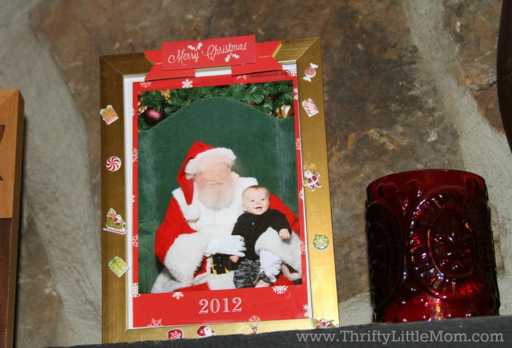 Annual Santa Frame