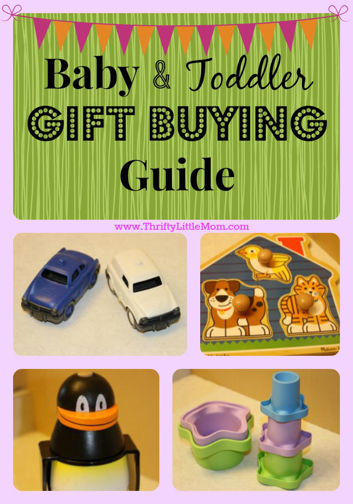 Baby Gift Guide : Baby toddler gift buying guide ? thrifty little mom