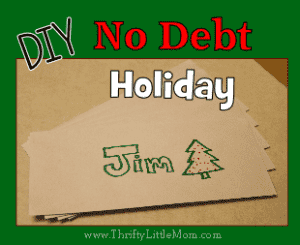 "Planning a ""No Debt"" Holiday"