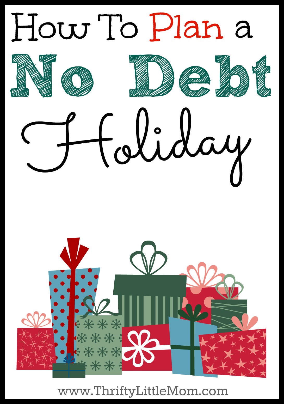 How to Plan a no debt Holiday