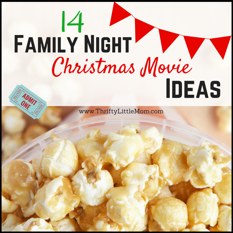 14 Family Night Christmas Movie Idea