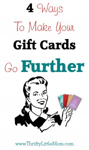 4 ways to make gift cards go furthur