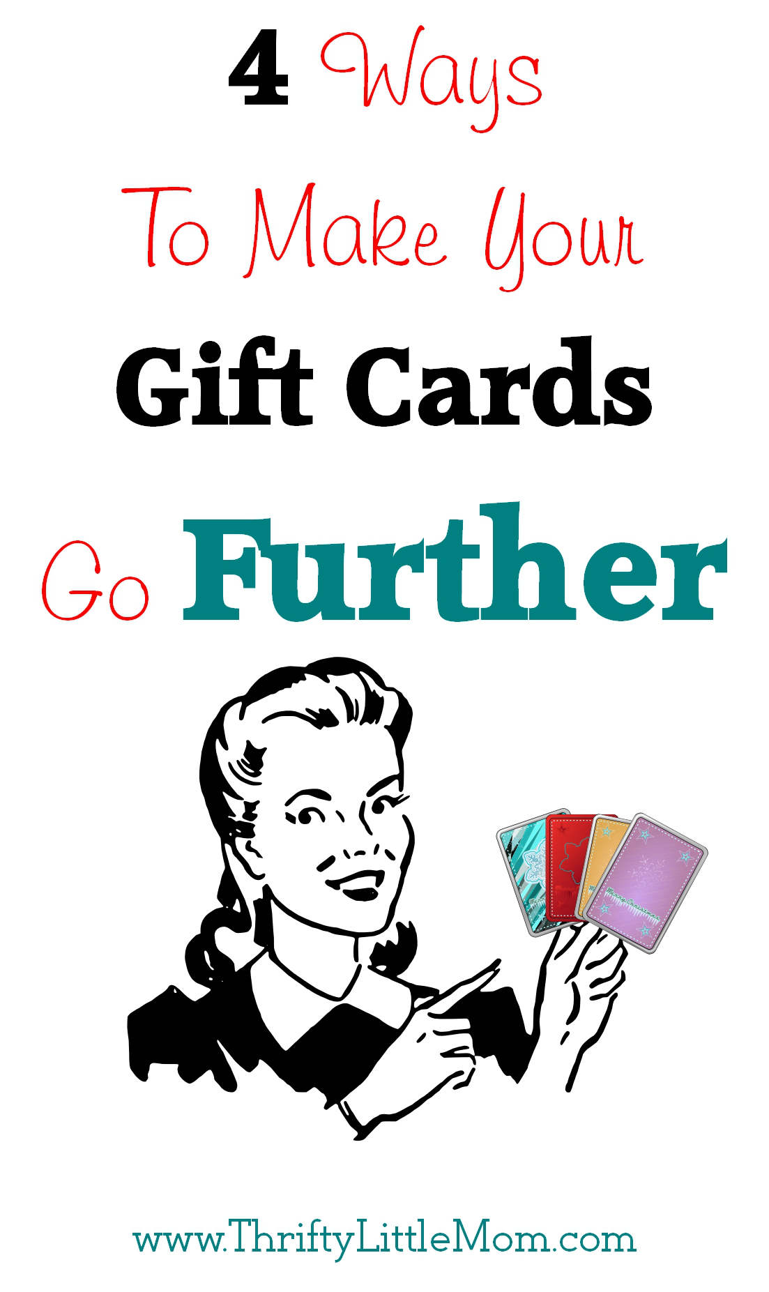 4 Ways To Make Your Gift Cards Go Further » Thrifty Little Mom