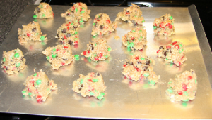 Christmas Cookies Ready to Bake
