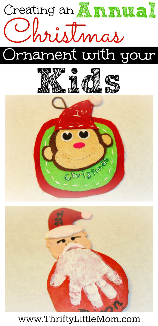 Creating an Annual Christmas Ornament With Your Kids. 3 Simple project ideas to get you started with creating a fun, annual ornament with your children that you can cherish for years to come.