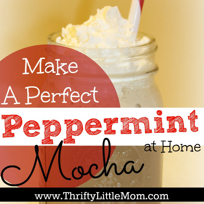 Make Your Own Peppermint Mocha: Day 4 of Getting Into The Holiday Spirit