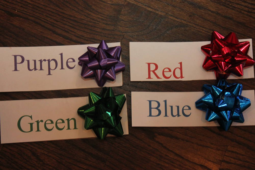 Matched Color Bows