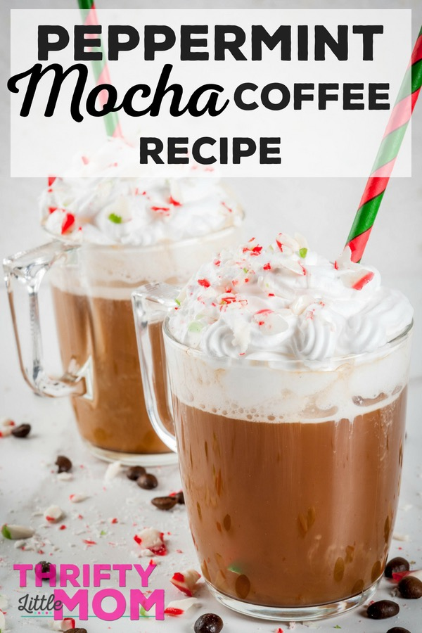 Make your own tasty peppermint mocha drink at home with this one secret ingredient!