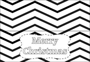 Printable Christmas Tag Sample 1