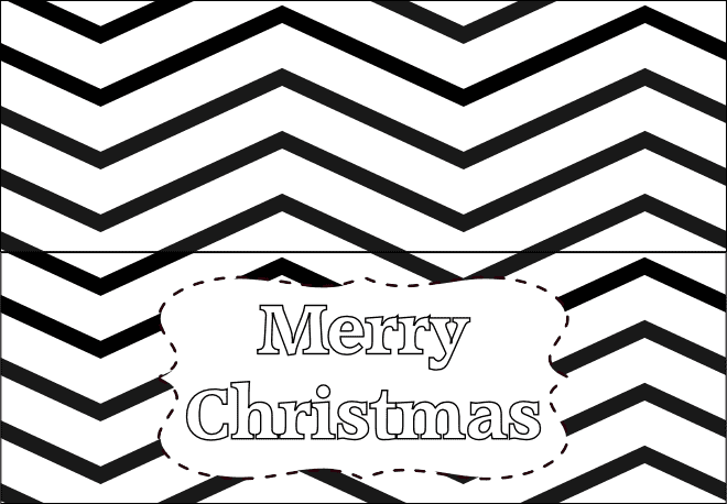 Printable Christmas Tag Sample 1