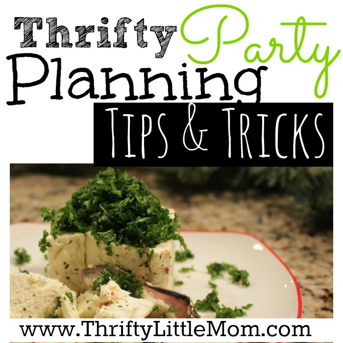 Thrifty Party Planning Tips & Tricks + Free Printable Planner