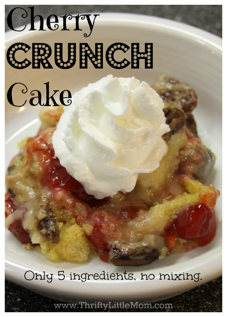 Cherry Crunch Cake