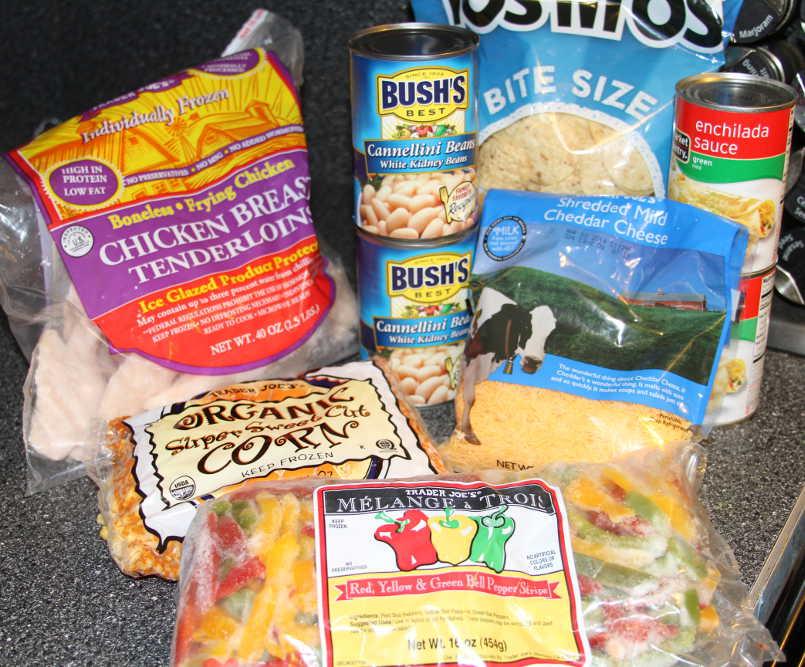 Chicken Enchilada Lasagna Ingredients