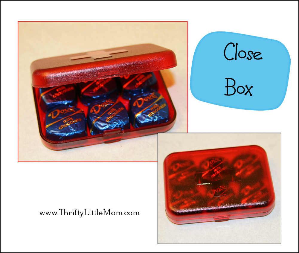 Close up box