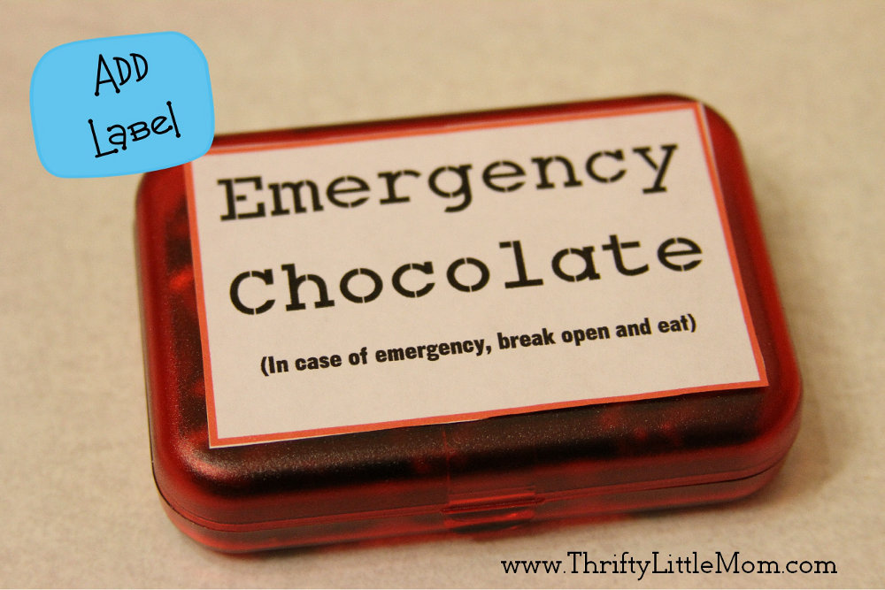 Complete Emergency Chocolate Box