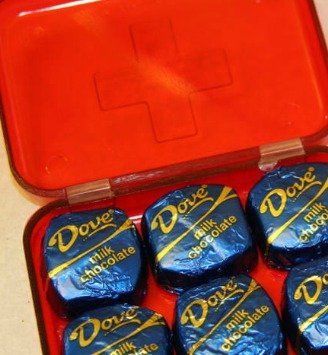 DIY Emergency Chocolate Kit Gift