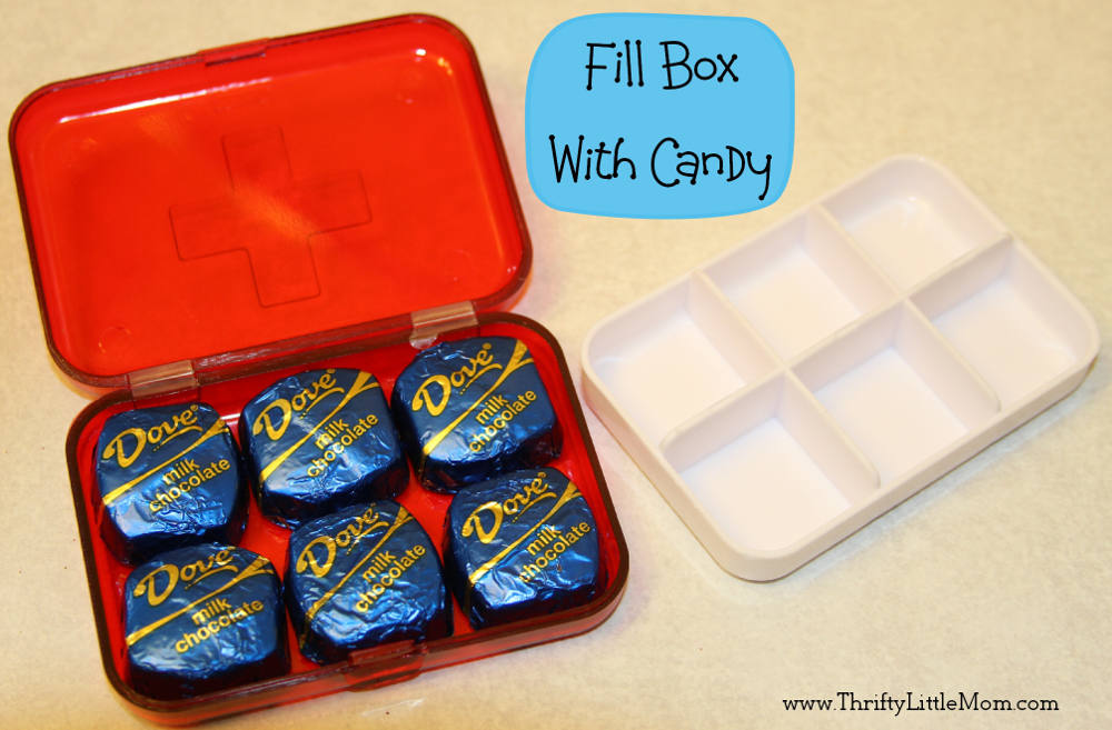 Fill Box With Candy