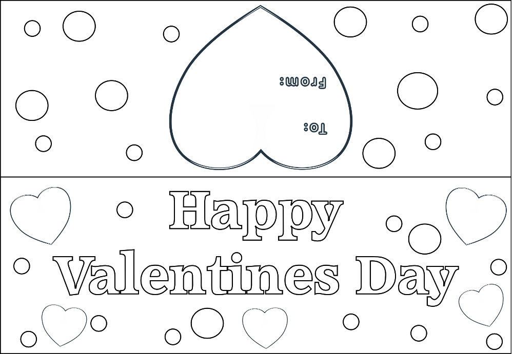 Happy Valentines Day Polka Dot Preview Image