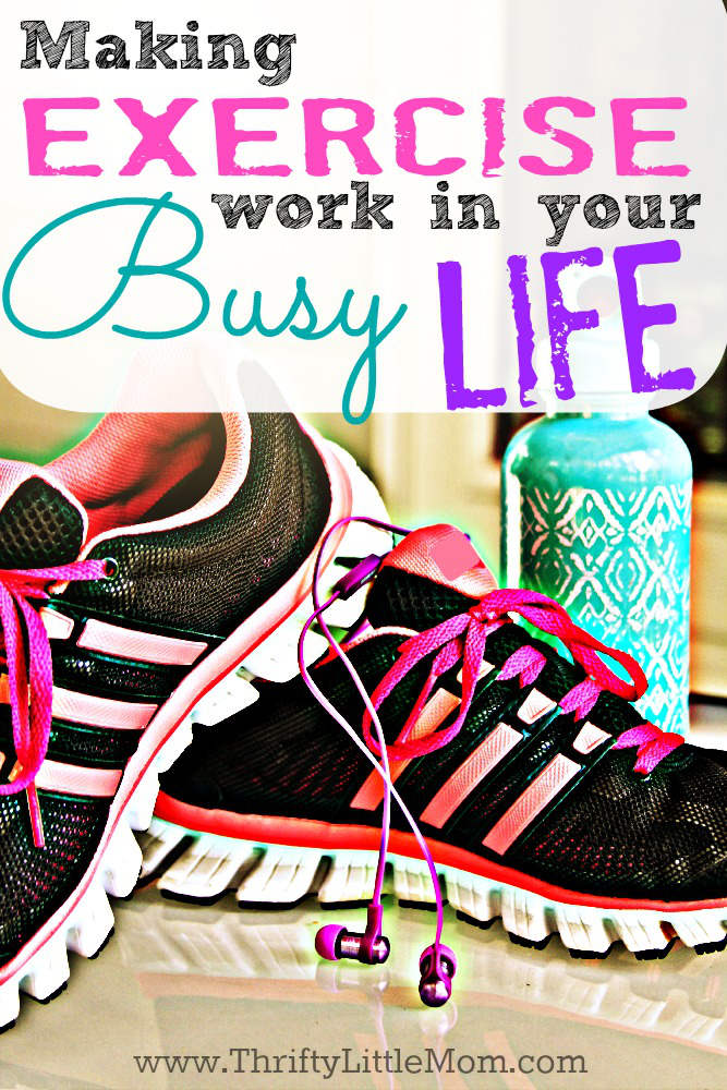Making Exercise Work in Your Busy Schedule