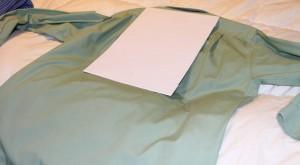 Shirt fold 1