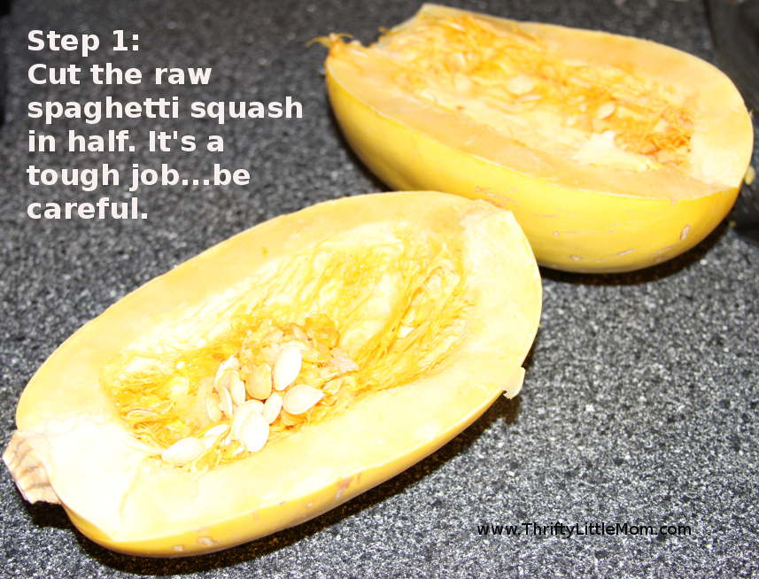 how to make spaghetti squash in microwave
