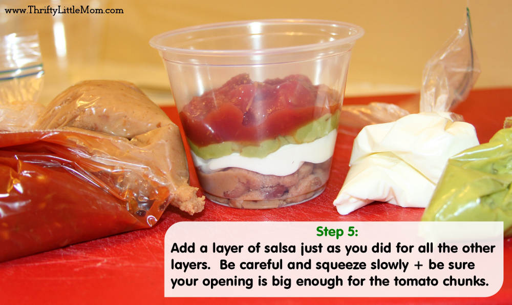 Step 5- Chip Dip Cups