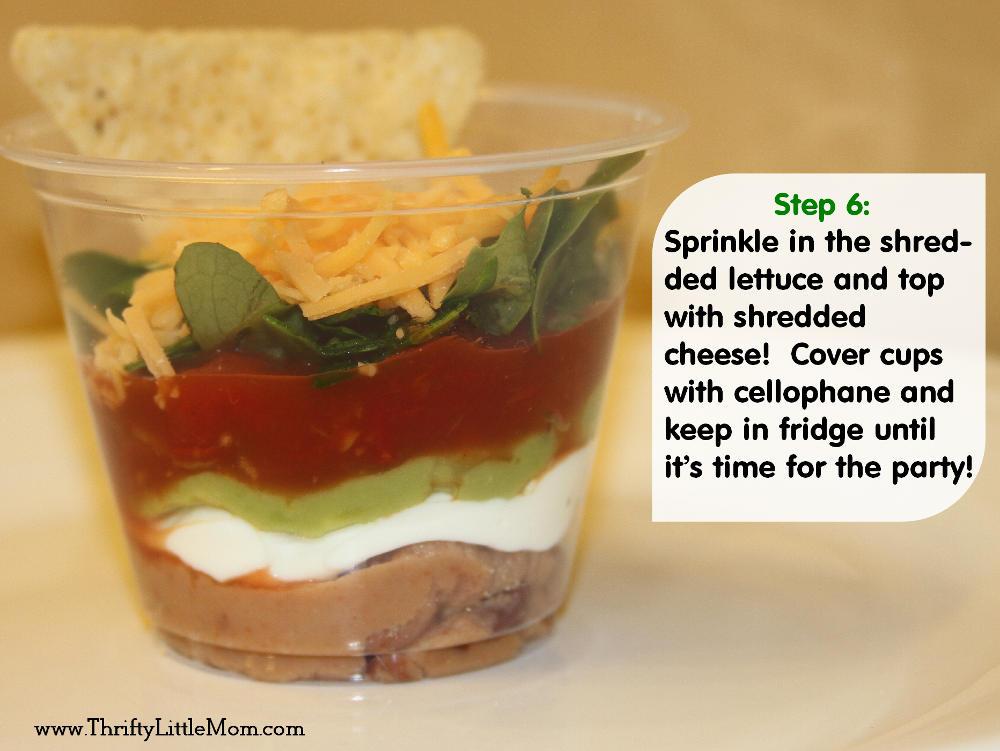 Step 6- Chip Dip Cups
