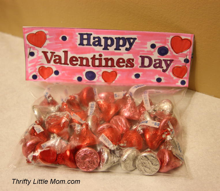 Color Your Own Printable Valentine S Day Goody Bag Toppers Thrifty