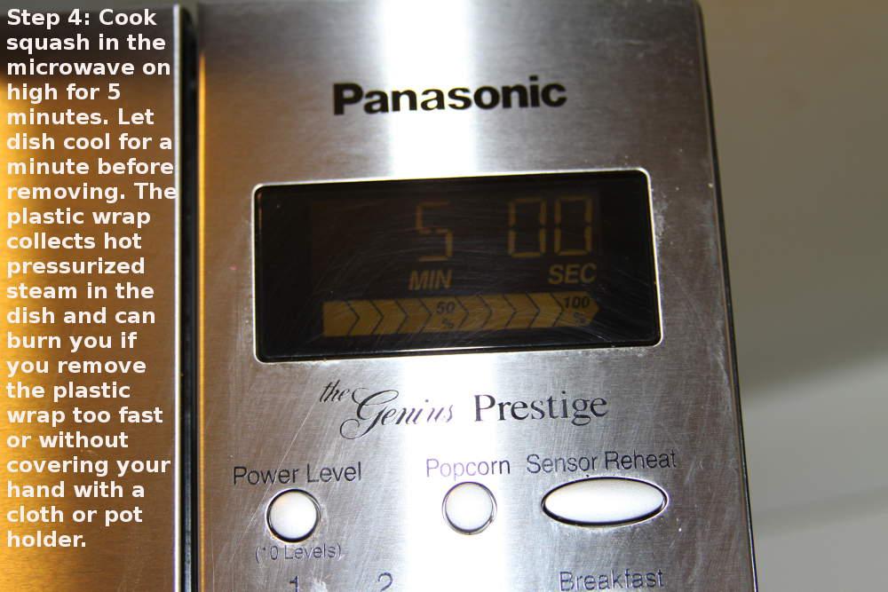 microwave squash