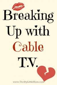 Breaking up with Cable TV